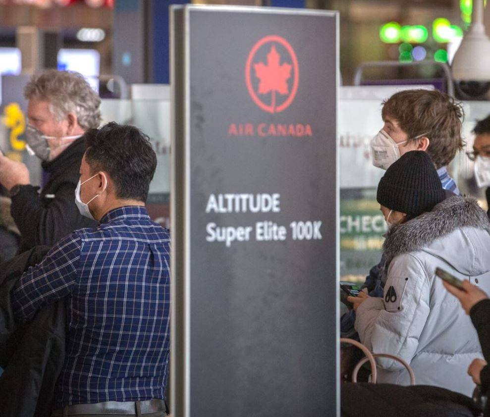 air canada check in counter