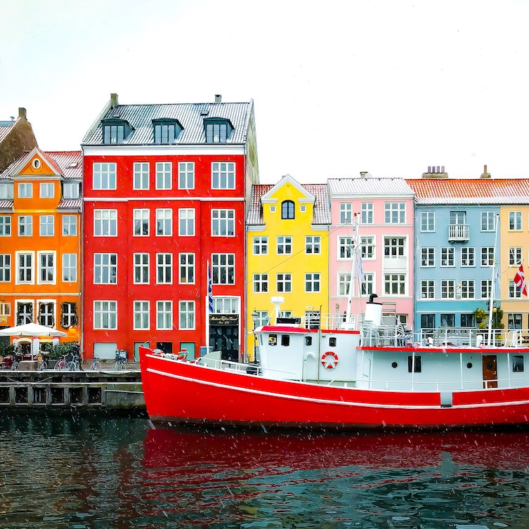 Denmark is a good place to travel if you speak english