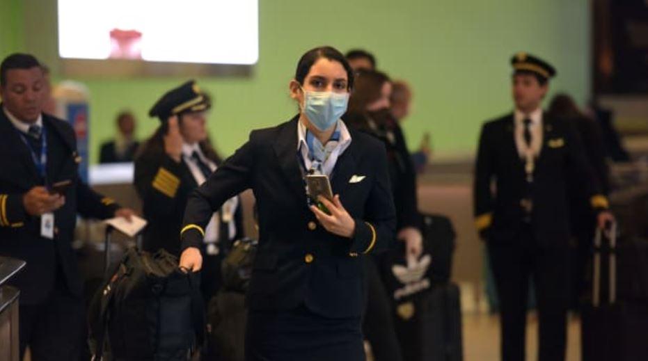 flight attendants test positive coronavirus