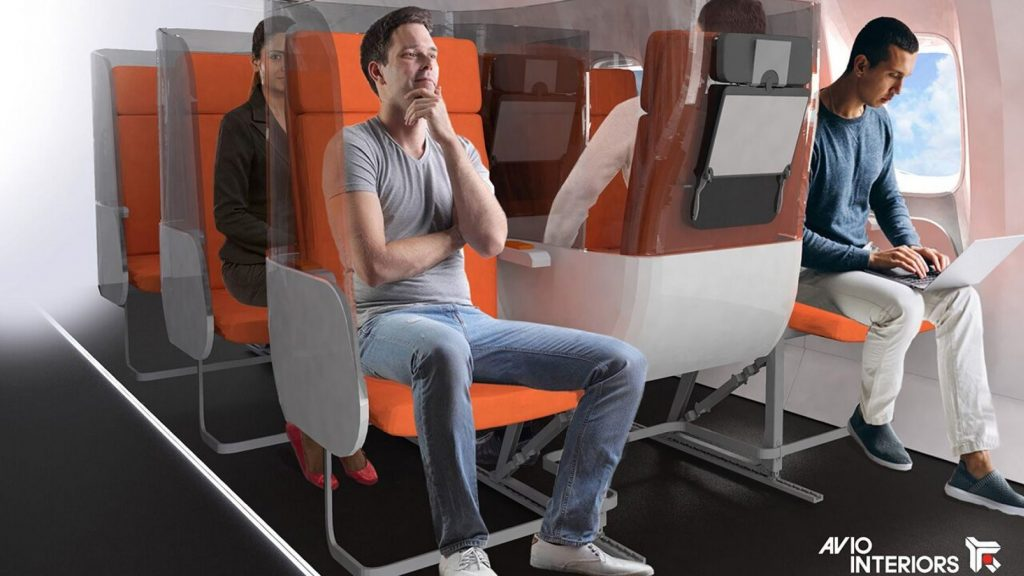 new plane interior