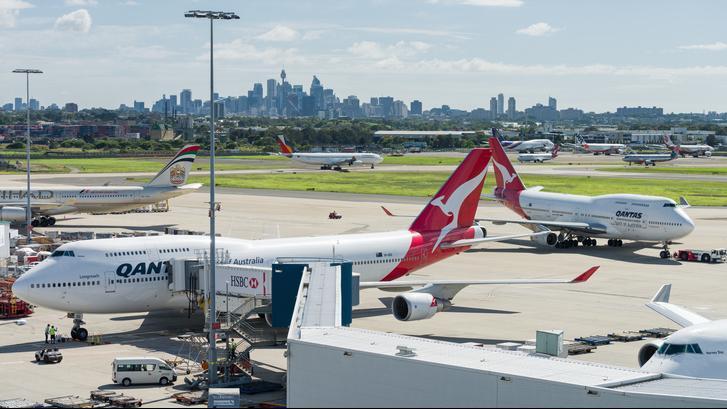 Australia airport tarmac