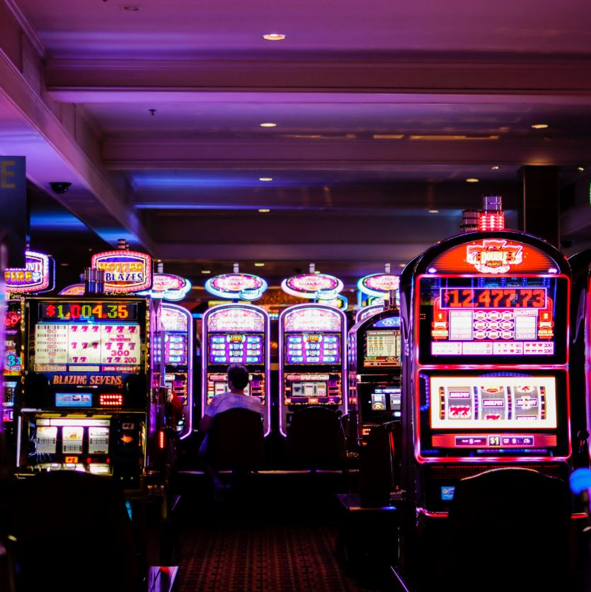 Casino slot machines will be distanced in las vegas upon reopening