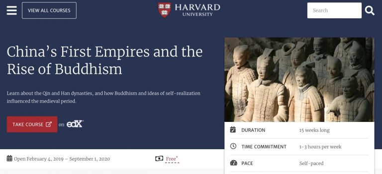 take free online classes from harvard
