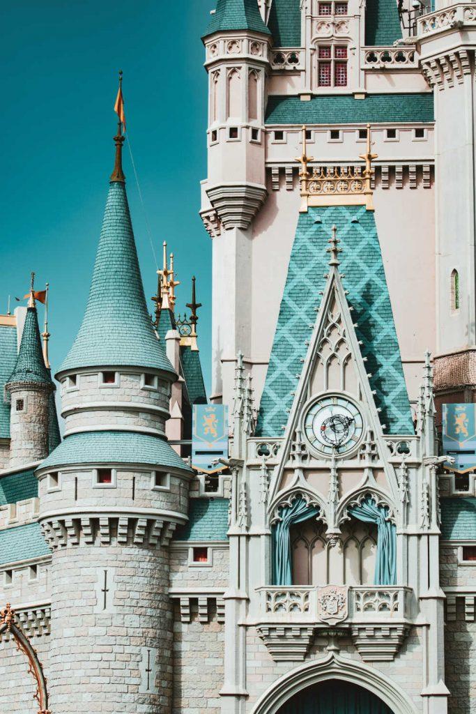 disney castle towers