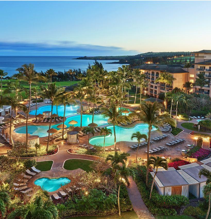 Hawaii resort hotel pool