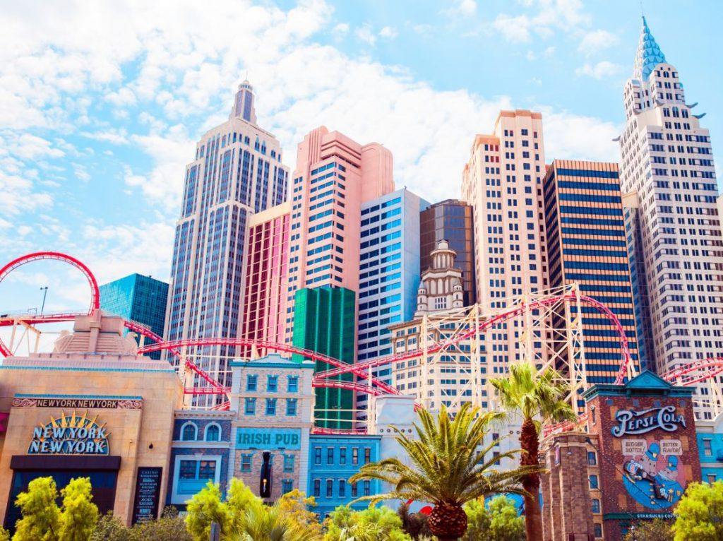 New York New York Las Vegas Reopening