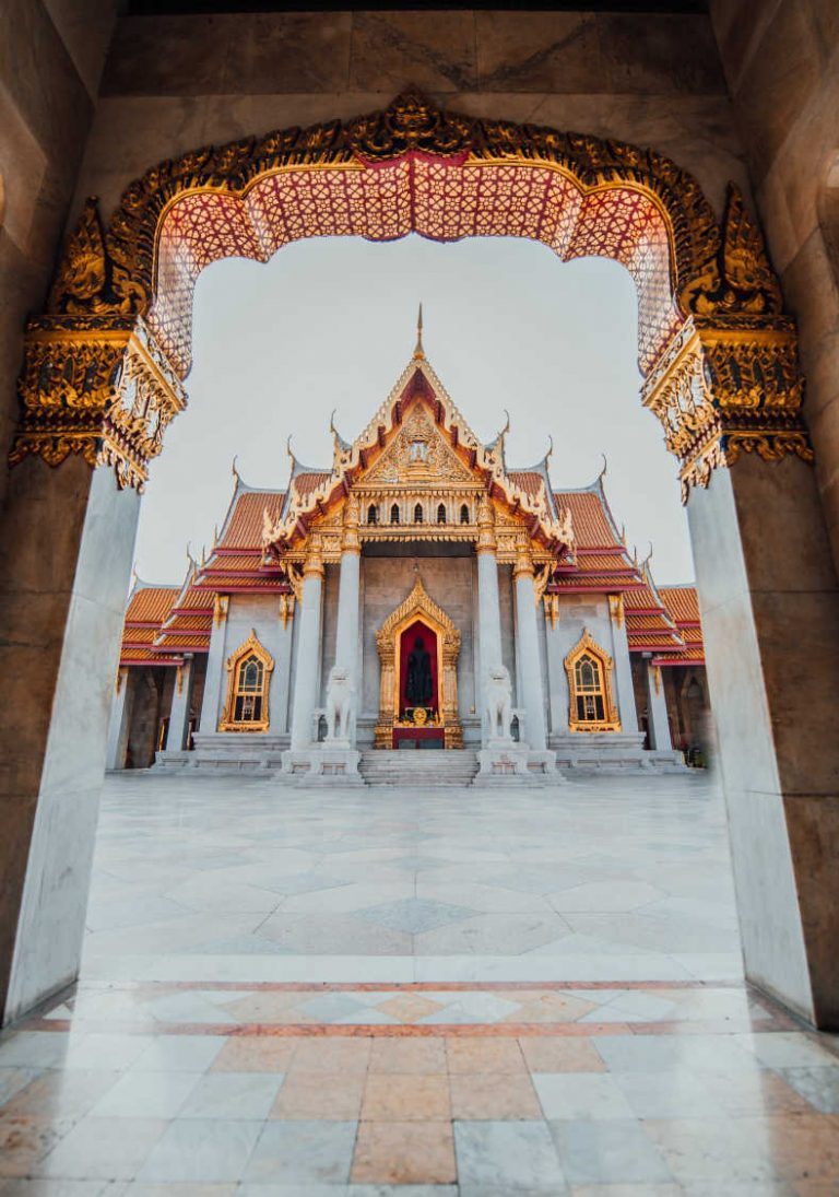 Temple tourist attraction in Thailand