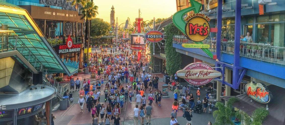Universal Studios Reopening CityWalk In Orlando