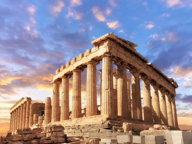 greece ruins attraction
