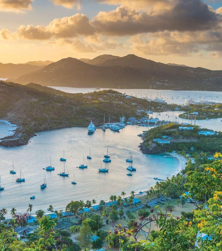 barbuda and antigua bay