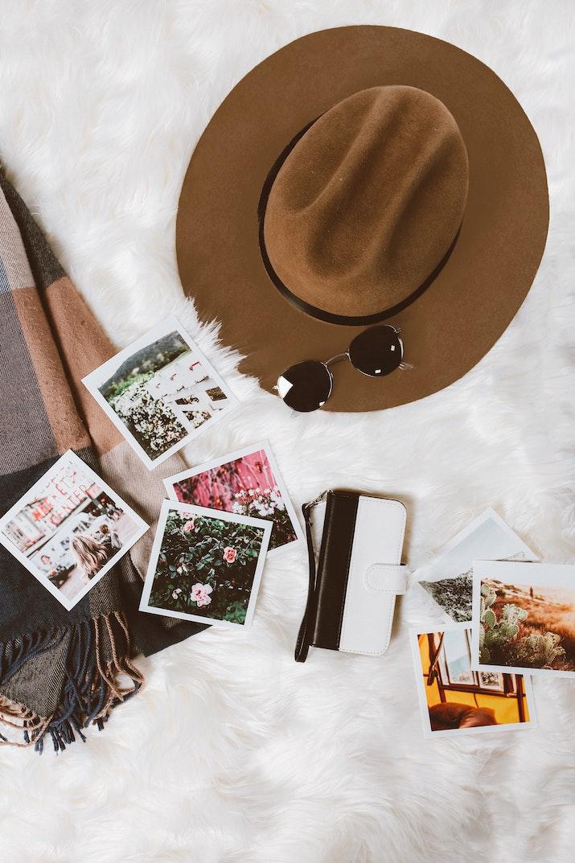 make a travel bucket list vision board