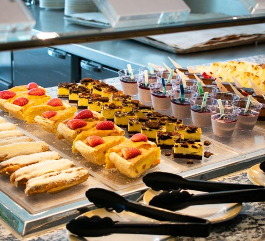 buffet on royal caribbean cruise