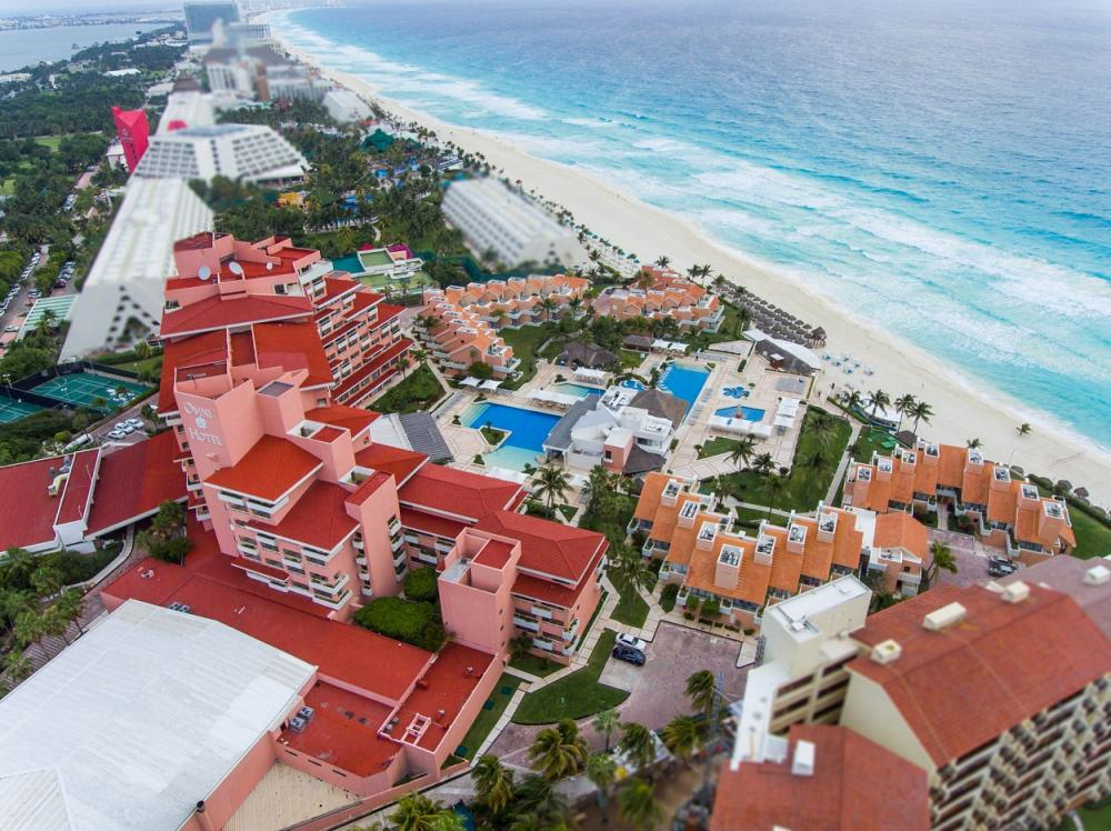 hotels in cancun opening