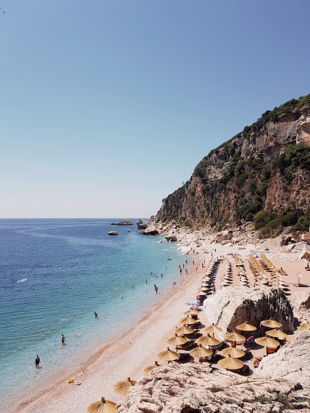beaches in montenegro are reopen for visitors