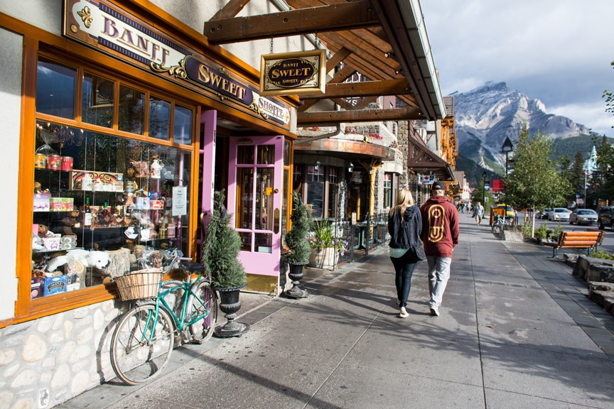 Alberta Mounties issued seven tickets to visitors from the US who violated health orders to go hiking in Banff National Park.