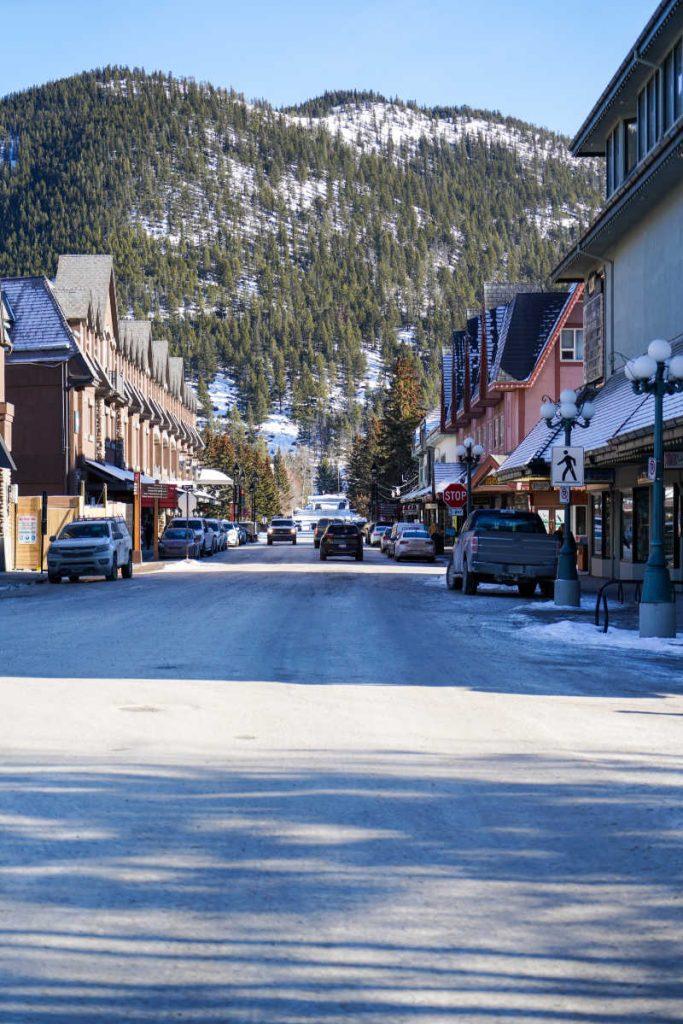 town of banff street (1)