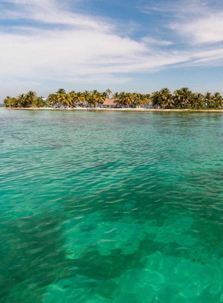 Belize ocean island