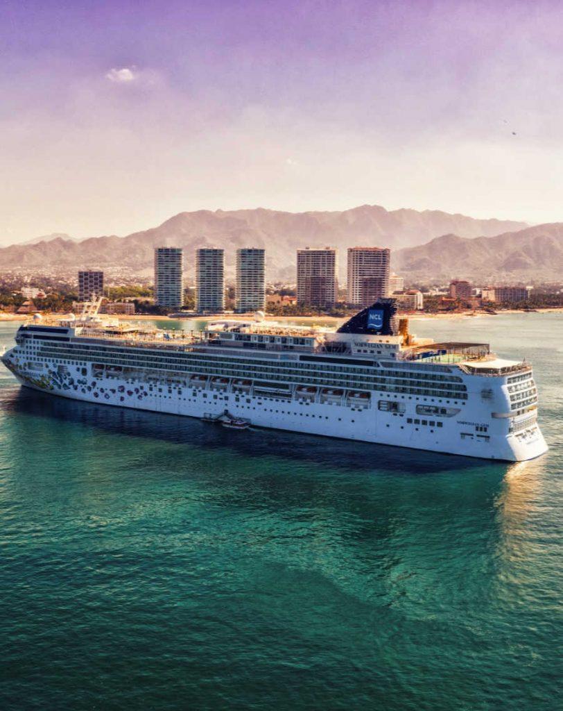 Norwegian Cruise Ship In Mexico