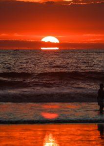 costa rica sunset jaco