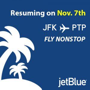 JFK to PTP