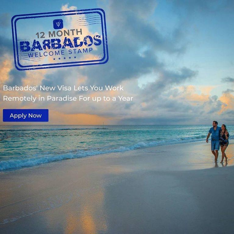 barbados remote work visa application