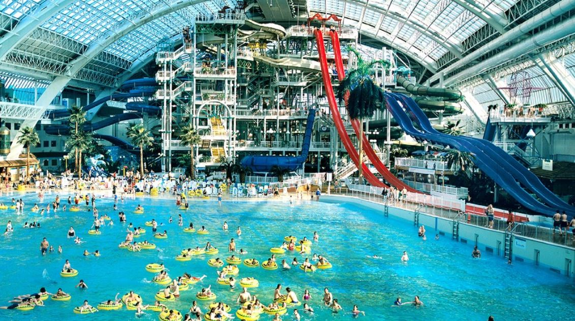 One Of the Worlds Largest Indoor Waterparks Is Reopening in Canada