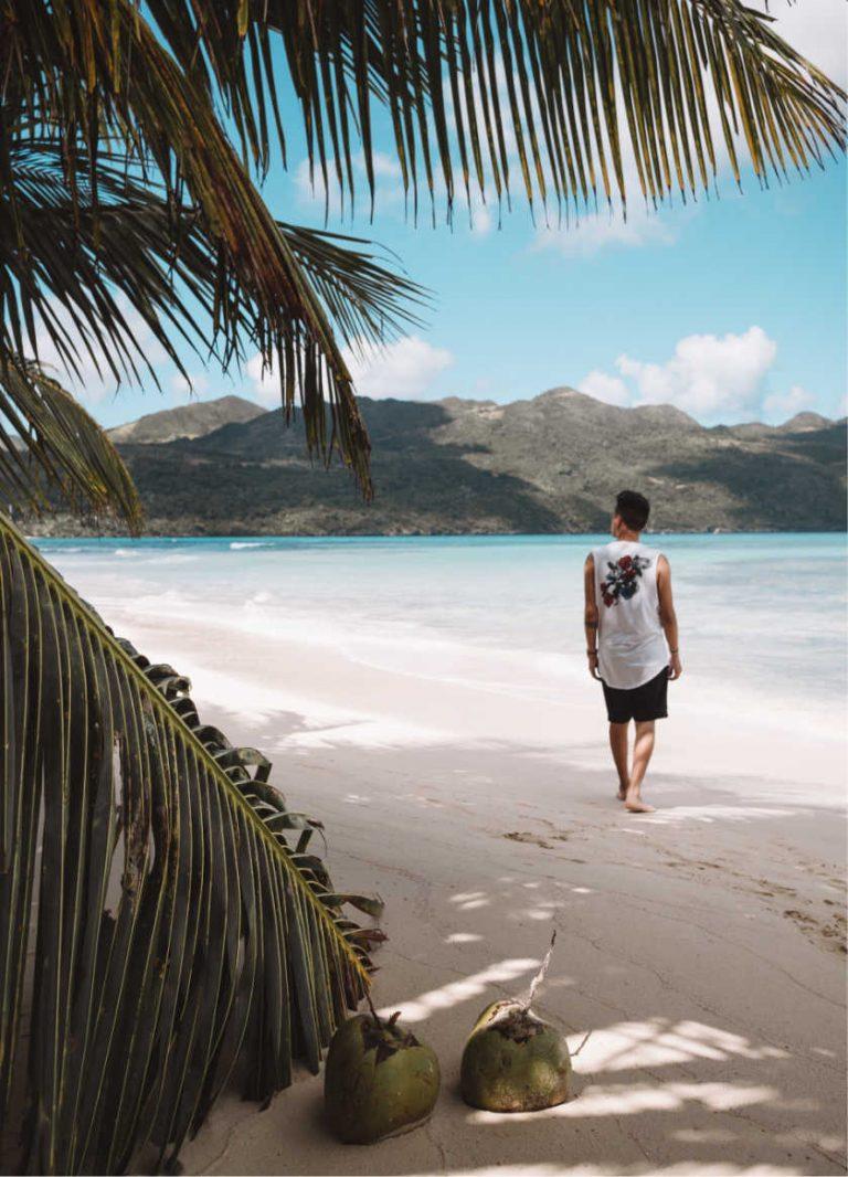 Tourist in the dominican republic