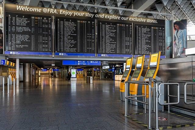 transit at frankfurt airport