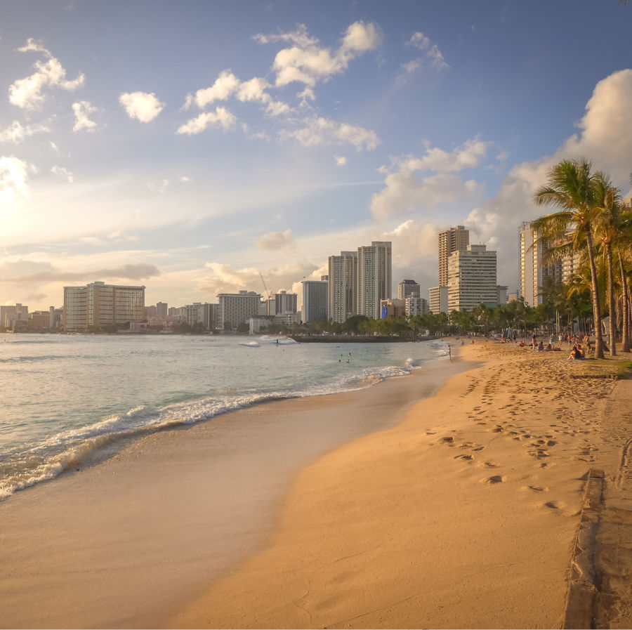 hawaii hotels on beach