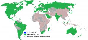 visa policy of el salvador