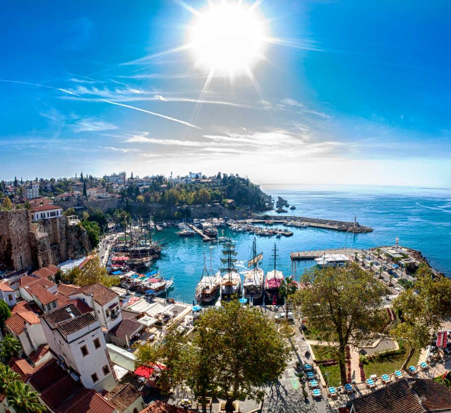 Antalya-Old Town-Harbor