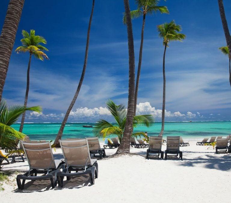 Bavaro beach in Punta Cana. Dominican republic