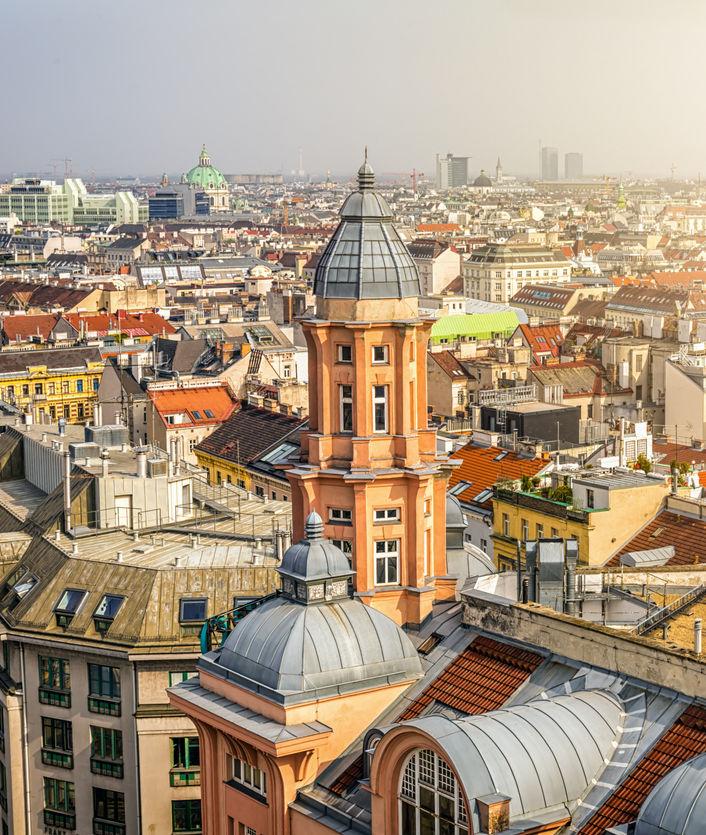 Skyline in Vienna