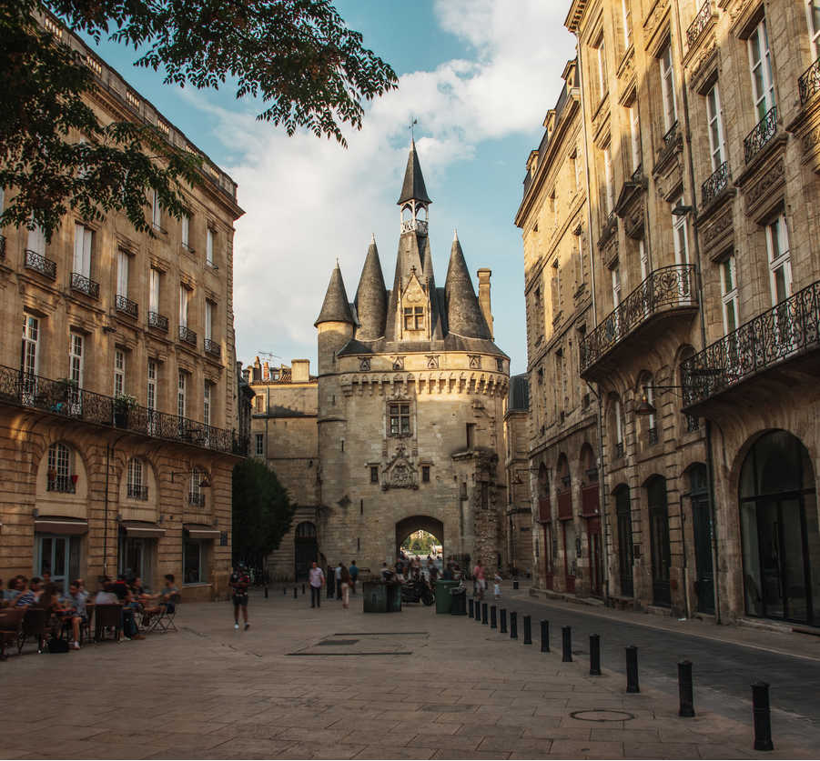 Street in Bordeaux france