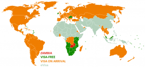 Visa Policy of Zambia