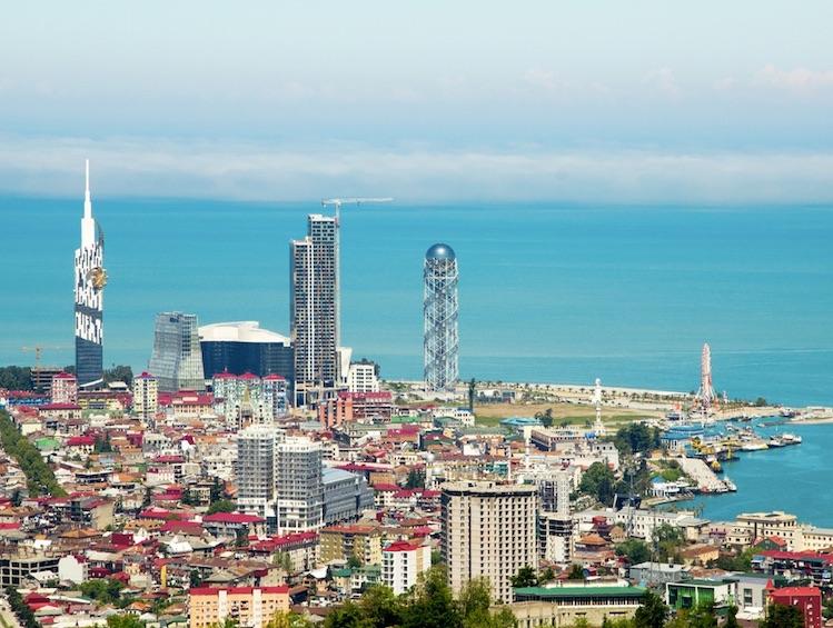 Skyline of Batumi