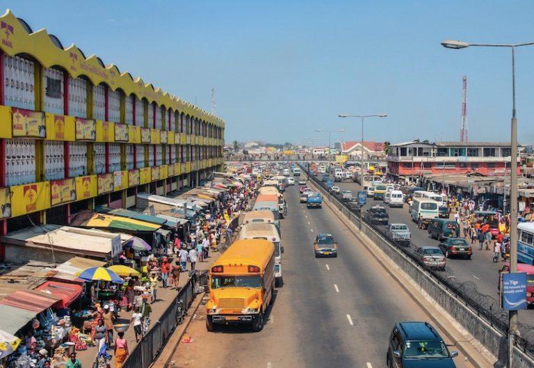 market in Accra, Ghana