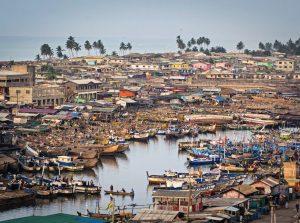 Elmina fishing harbor