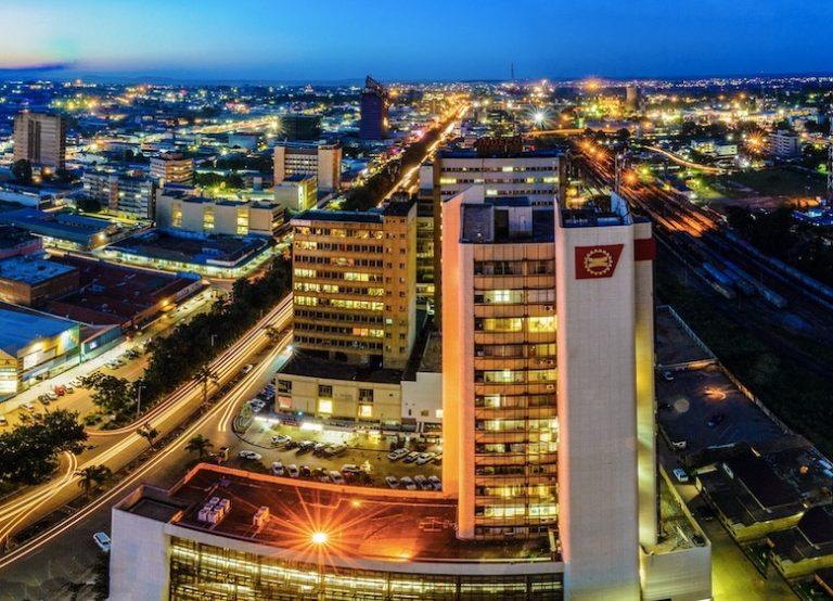 Lusaka at night