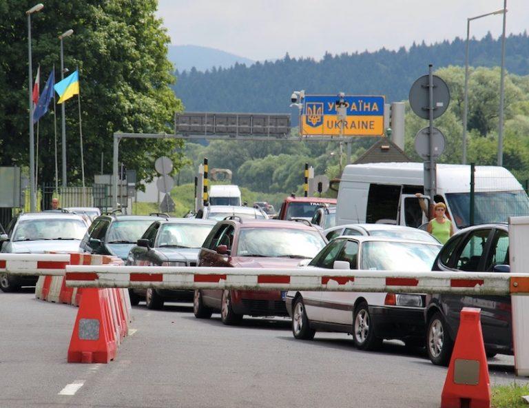 ukraine closes border again