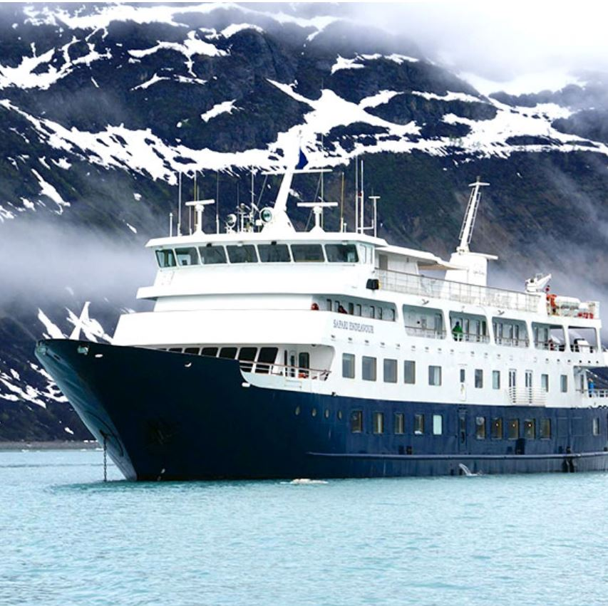 uncruise ship in alaska