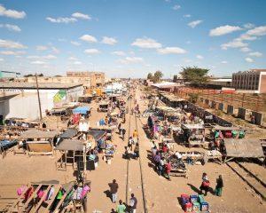 Market in Lusaka, Zambia