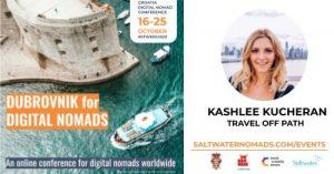 Travel Off path -Kashlee Kucheran Dubrovnik for Digital Nomads