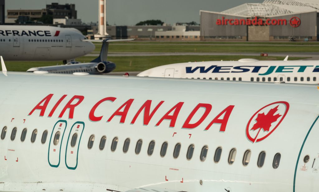 Air Canada and WestJet