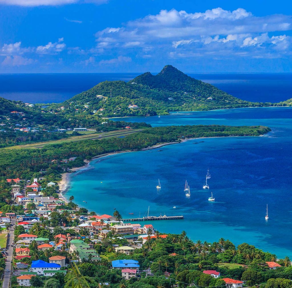 Carriacou, vista dal Belair View