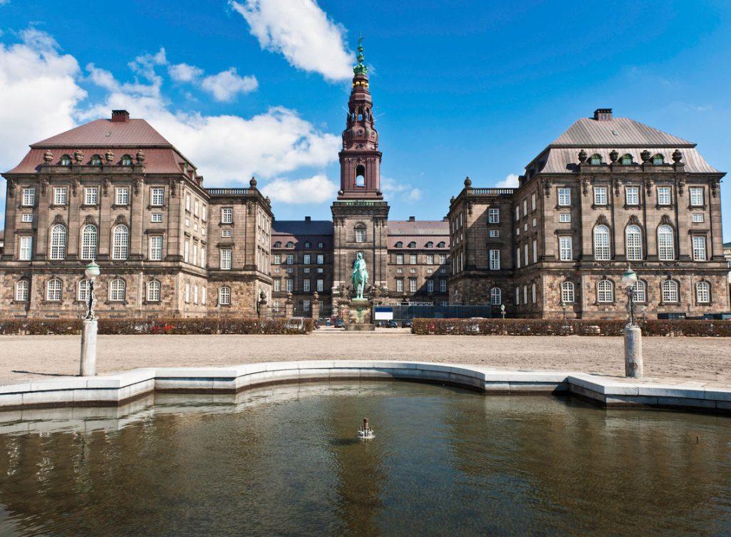 Copenhagen Folketing Parliament Christiansborg Palace
