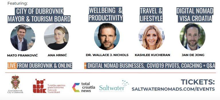 Dubrovnik for Digital Nomads virtual event
