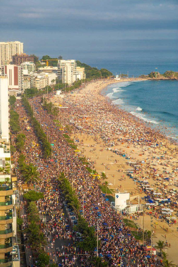Rio Carnival Street Party Parade