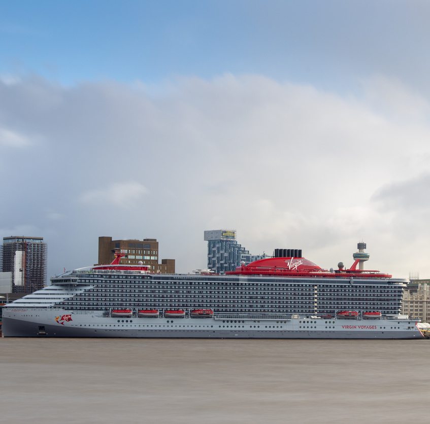 Scarlet Lady cruise ship - Virgin Voyages