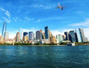 air bridge between new york and london